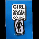 Girl OG Sketchy Enamel Lapel Pin