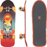 "Globe Aperture Cult Of Freedom Portal 30.38"" Cruiser Skateboard Complete"