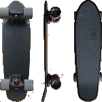 "Globe Blazer Black The F Out 26"" Cruiser Skateboard"