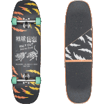"Globe Cut Club 8.625"" Complete Cruiser Skateboard"