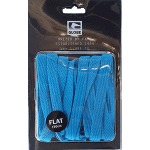 Globe Flat Shoe Laces Blue