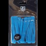 Globe Flat Shoe Laces Blue