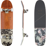 Globe Half Dip Cherry Palm Cruiser Skateboard Complete