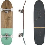 Globe Half Dip Walnut Mint Cruiser Skateboard Complete