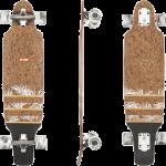 "Globe Spearpoint Cork Zagged 33"" Cruiser Longboard Complete"