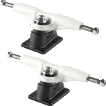Gullwing Pro III Skateboard Trucks White