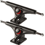 Gullwing Reverse 183mm Black Longboard Trucks