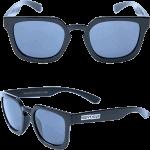 Happy Hour Wolf Pup Gloss Black Sunglasses