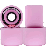 Hawgs Chubby 60mm 78a Cruiser Skateboard Wheels Pink