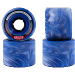 Hawgs Chubby 60mm 78a Blue Sky Cruiser Skateboard Wheels