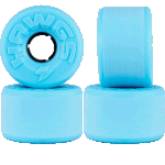 Hawgs Easy 63mm Blue 78a Cruiser Skateboard Wheels