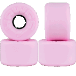 Hawgs Easy 63mm Pink 78a Cruiser Skateboard Wheels