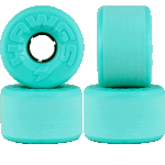 Hawgs Easy 63mm Teal 78a Cruiser Skateboard Wheels