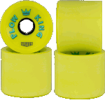 Hawgs Plow King 72mm 78a Flat Banana Longboard Wheels