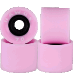Hawgs Supremes 70mm 78a Longboard Wheels Pink