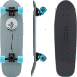 "Landyachtz Dinghy Blunt 28"" UV Sun Complete Cruiser Skateboard"