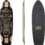 "Landyachtz Gambler 33.9"" Longboard Deck"