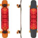 Landyachtz Stratus Hollowtech Faction 46 Complete Longboard