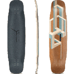 "Loaded Basalt Tesseract 39"" Nude Longboard Deck"