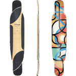 "Loaded Bhangra V2 48.5"" Flex 1 Freestyle Longboard Deck"