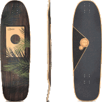 "Loaded Omakase Palm 33.5"" Longboard Deck"