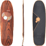 "Loaded Omakase Roe 33.5"" Longboard Deck"