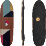 "Loaded Truncated Tesseract 33"" Longboard Skateboard"