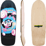 "Madrid Claus Grabke 10.75"" Old School Skateboard Deck"