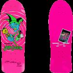 """Black Label X Madrid Lucero Jester 10.25"""" Pink Signed Reissue Skateboard"""
