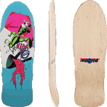 "Madrid Shaman OG 9.875"" Reissue Skateboard Deck"