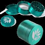 Magenta 3 Chamber Grinder Green
