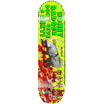 "Miasma Honey Badger 8.25"" Redline Skateboard"