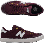 New Balance Numeric 212 Pro Court Burgundy Skate Shoes