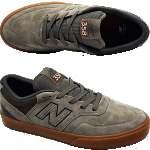 New Balance Numeric 358 Khaki Gum Skate Shoes