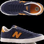New Balance Numeric 212 Pro Court Navy Goldrush Skate Shoes