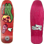 "New Deal Morrison Bird Hand 9.875"" Skateboard Deck"