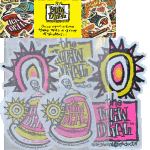 New Deal Assorted Stickers 6pack