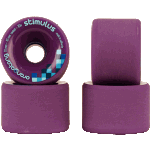 Orangatang Stimulus 70mm 83a Purple Longboard Wheels