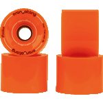 Orangatang 4 President 70mm 80a Orange Longboard Wheels
