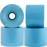 Orangatang 4President 70mm 77a Blue Longboard Wheels