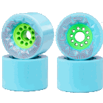 Orangatang Caguama 85mm 77a Blue Longboard Wheels