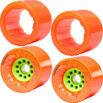 Orangatang Unlimited x Loaded Caguama 80a 2 x Wheel 2 x Liner Upgrade Pack