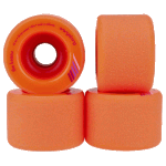 Orangatang Keanu 66mm 80a Orange Longboard Skateboard Wheels