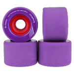 Orangatang Keanu 66mm 83a Purple Longboard Skateboard Wheels