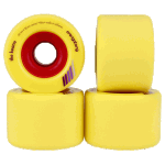 Orangatang Keanu 66mm 86a Yellow Longboard Skateboard Wheels