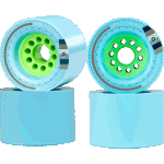 Orangatang Kegel 80mm 77a Blue Longboard Wheels