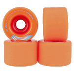 Orangatang Kilmer 69mm 80a Orange Longboard Wheels