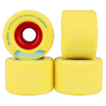 Orangatang Kilmer 69mm 86a Yellow Longboard Wheels