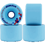 Orangatang Stimulus 70mm 77a Blue Longboard Wheels