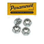 Paramount Skateboard Truck Axle Nuts x 4